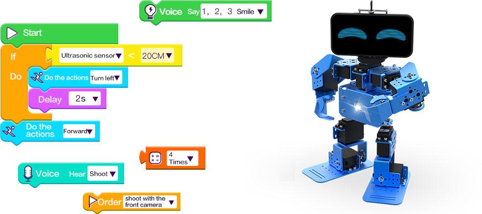 The kid next door- kid's mate  IronBot Mate DIY Coding Robot